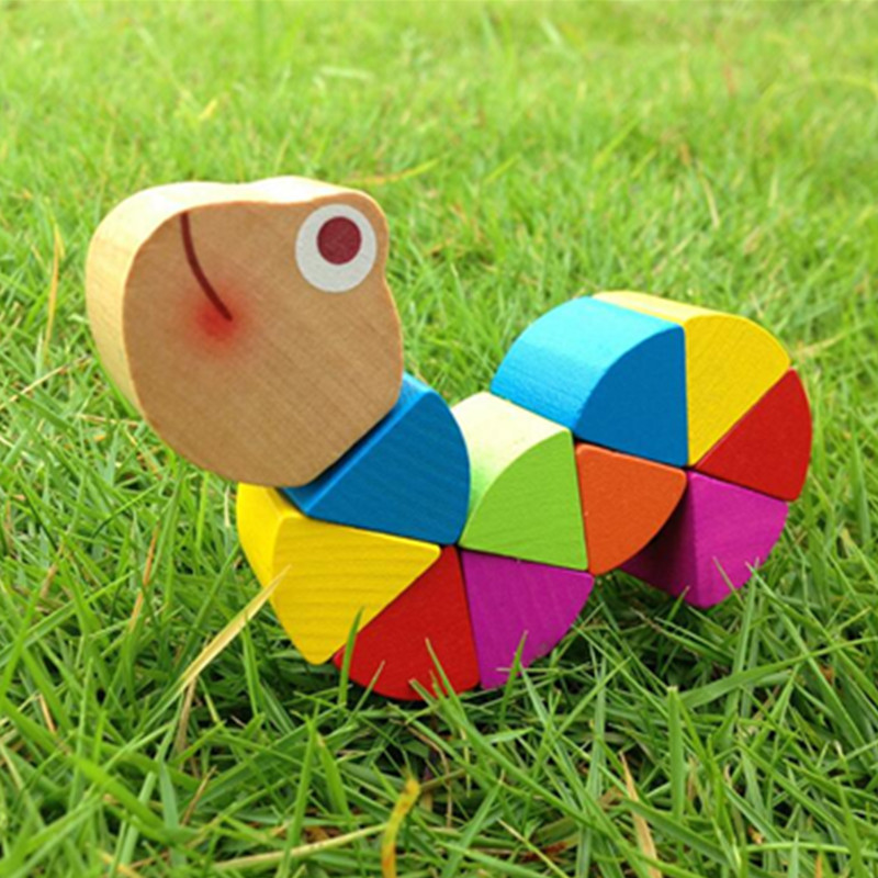 Wooden Insect Toy for Children 19