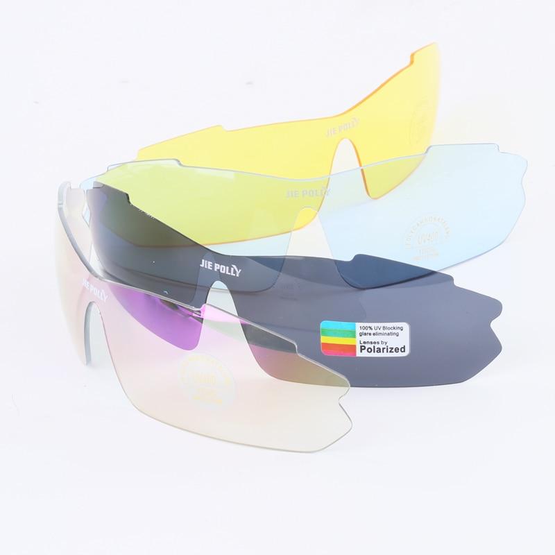 Jiepolly Polarized Radsportbrillen Sportbekleidung Brillen Mit - Radfahren - Foto 6