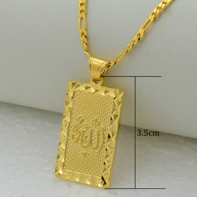 Online shop anniyo prophet mohammed allah pendant necklace women online shop anniyo prophet mohammed allah pendant necklace women men gold color jewelry middle eastmuslimislamic arab ahmed 085106 aliexpress mobile mozeypictures Choice Image