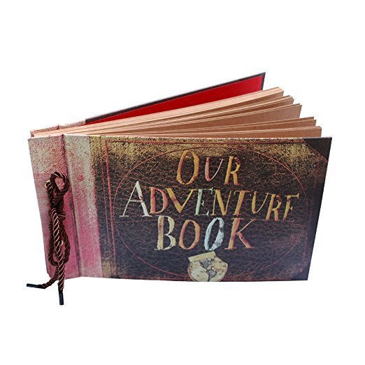 101-200 листов 12 дюймов Скрапбукинг наше приключение книга Pixar до ручной работы Diy Семья Скрап фотоальбом ...