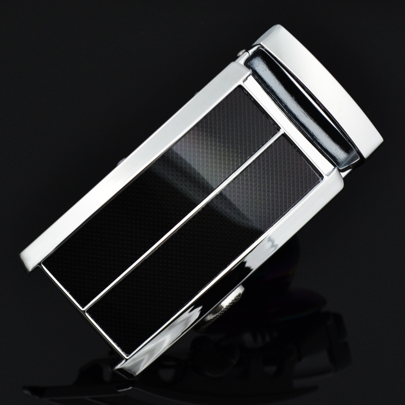Zinc Alloy Belt Buckle Man Belt Buckle Automatic Buckle Personality Belt Waist Lead LY125-0986 3.5cm Men Apparel Accessories