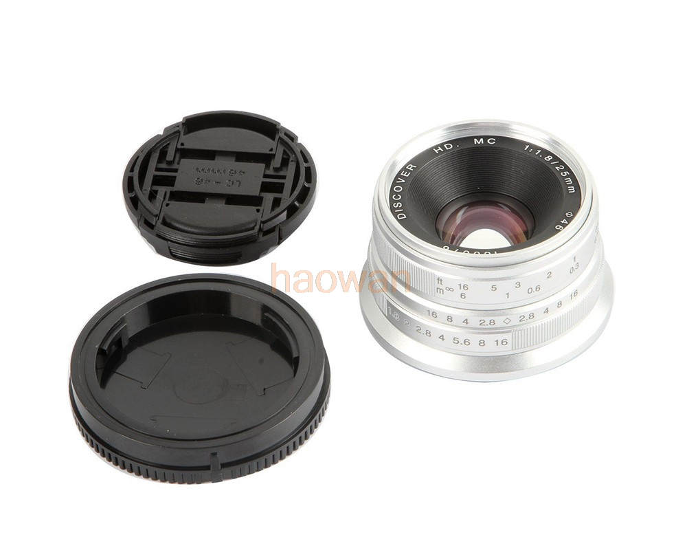 25mm F1 8 F 1 8 Manual Focus Wide Angle Movie Lens for sony e NEX