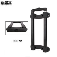 Luggage Replacement Telescopic Trolley Handle parts/Aluminium Pull Rod Handle/Repair Suitcase Handle R007#