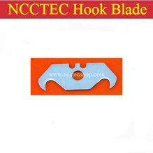 NCCTEC hook blade for PVCK1H floor cutter cutting hook knife FREE shipping (10 pcs per package) | HRC60 SK5 High carbon steel