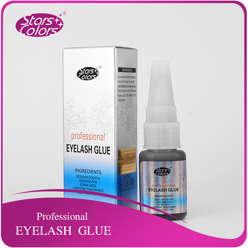 цена на Powerful Latest Professional Engrafting Eyelash Adhesive Individual Eyelash Glue Black Low Odor No Toxic Eyelash Adhesive