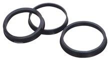 """76.1 72.6 מ""""מ 20 יחידות שחור פלסטיק הגלגל Hub Centric טבעת מותאם אישית גודל זמין גלגל שפת חלקי אבזרים סיטונאי משלוח חינם"""