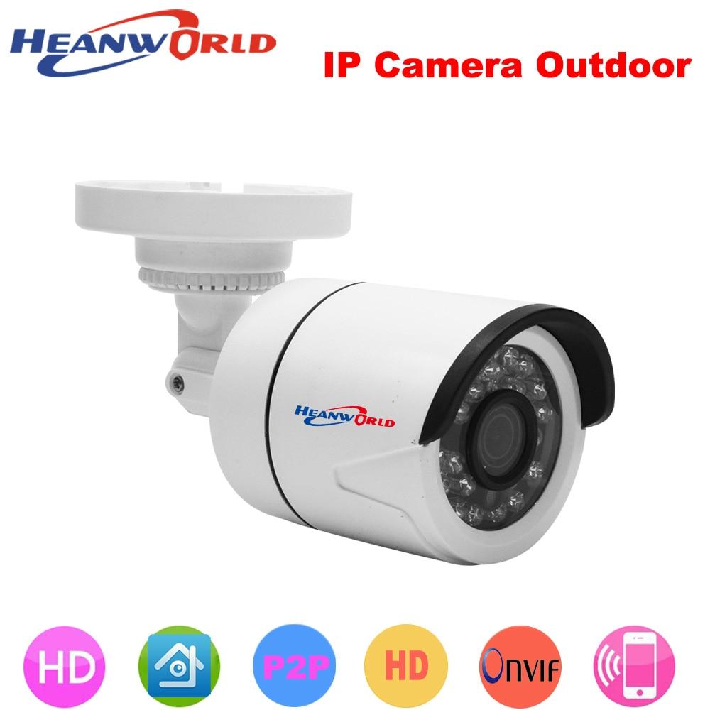 2x 720P HD WiFi Wireless ONVIF Security IP Camera Webcam Outdoor CCTV Cam IR-CUT
