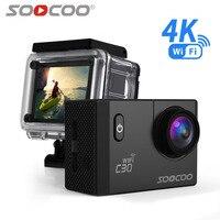 SOOCOO C30 Actie 4 K Sport Camera Wifi Ingebouwde Gyro Verstelbare kijkhoeken (70-170 Graden) 2.0 LCD NTK96660 30 M Waterdicht