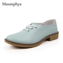 genuine leather oxford shoes for women flats  women shoes moccasins sapatos  sapatilhas zapatos mujer
