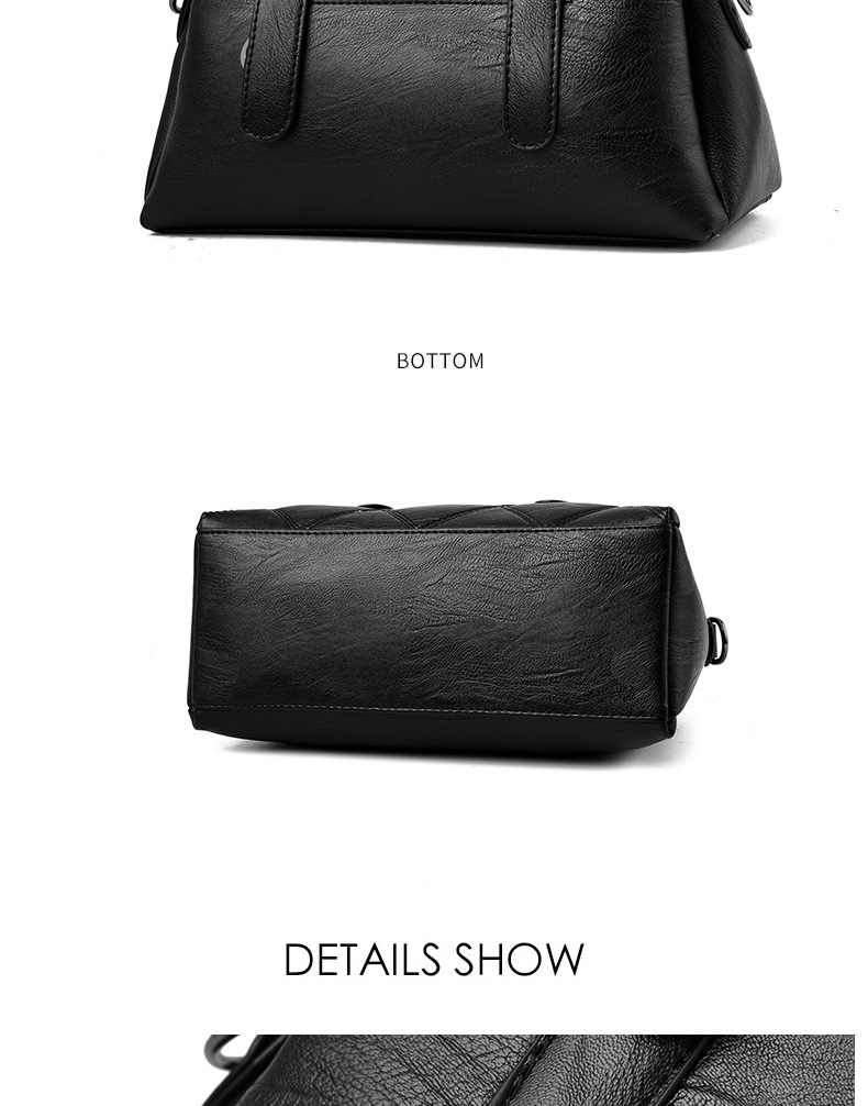 Women Bag 2019 New Women Messenger Bags Fashion Pu Leather Shoulder Bags Handbags Famous Brands, Big Crossbody Bags For Women 25