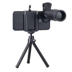 Image 2 - APEXEL 18X Télescope Zoom Mobile Lentille de Téléphone pour liphone Samsung Smartphones universel clip Telefon Camera Lens avec trépied 18 XTZJ
