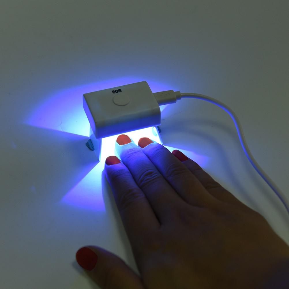Nails Art & Werkzeuge Ehrlichkeit 1 Satz 3 Watt 60 S Mini Nail Art Trockner Gel Curing FÜhrte Uvlampe Nageltrockner Licht Usb Lade Nagel Lampe Trockner