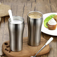 Thermos Mugs Stainless Steel Double Wall Vacuum Insulated Water Bottle Tumbler Cups Coffee Mug Suit For Milk Beer 430ml
