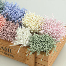 400pcs 1.5mm Heads Mini Flower Stamen Pistil Wedding Decoration Scrapbooking DIY Artificial Cards Cakes Flowers Accessories