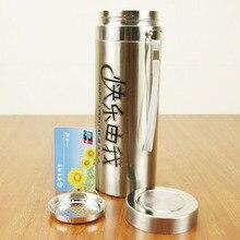 Kostenloser Versand Big 750 ml Edelstahl Isolierten Thermosflasche-schalen große größe Kaffee MugTravel Trinken Flasche Isolierflaschen Thermoskannen