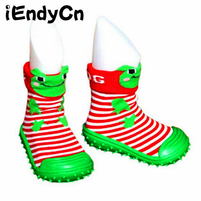 iEndyCn Rubber Soles Socks for Baby Boy Girl Socks Cotton  Baby Shoes with Rubber Soles Newborn Anti Slip Baby Socks  LMY05