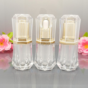 10ML 20pcs Acrylic Essential oil Dropper Bottle Pigment Perfume Container Vials Portable Empty Cosmetic Packaging