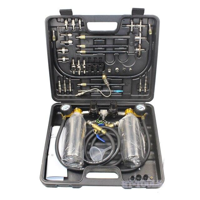 Double bottle Universal Automotive Non Dismantle Fuel System Cleaner Auto gasonline Injector Clean tool For Petrol