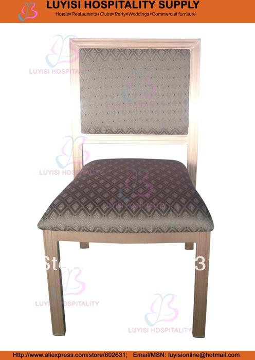 Quality Fashion Hilton Aluminum Dining Banquet Chair LUYIS380