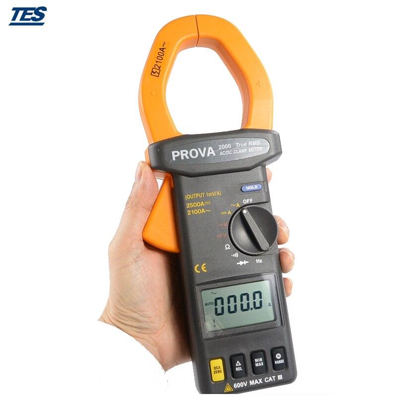 PROVA 2000 тестер сопротивления напряжения постоянного/переменного тока True RMS
