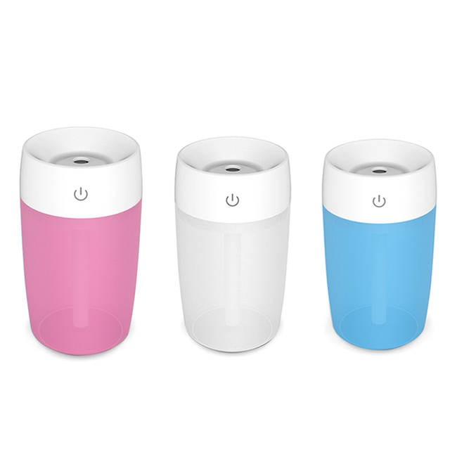 Mini Cool Mist Humidifier Desk Travel Portable For Car Home Office Quiet Usb Operation