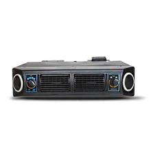 Universal modificado 3 velocidade condicionador de ar do carro a/c12v evaporador conjunto unidade ar condicionado aquecedor