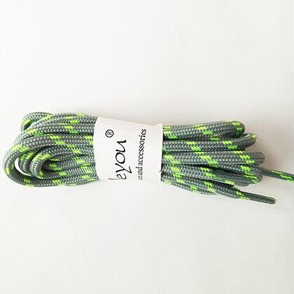100-160 см спортивные круглые шнурки, 17 цветов, кроссовки, белые шнурки, спортивная обувь, шнурки, спортивная обувь, обувь для скейта, шнурки - Цвет: lightgray green