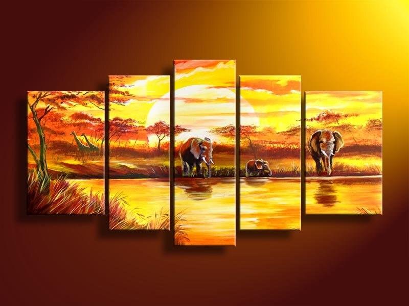 Pintados 224 M 227 O Pintura A 243 Leo Quadro De Parede Arte