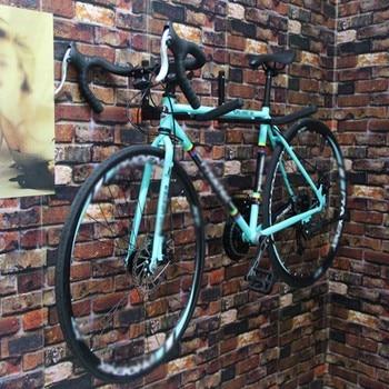 Soporte De Montaje En Pared De Bicicleta Soporte De Aleación De Aluminio Estante De Almacenamiento Para Bicicletas Gancho De Suspensión Accesorios De Ciclismo FK88