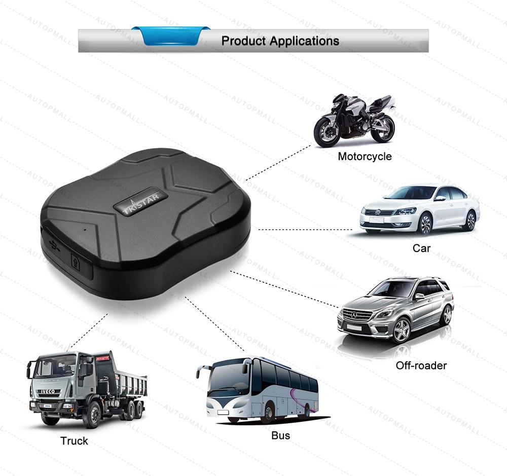 ₪GPS Tracker Car TKSTAR TK905 5000mAh 90 Days Standby 2G