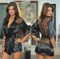 Baby Doll Sexy Lingerie Sex Products Cardigan Kimonos Lace Women's Underwear Plus Large Size Sexy Costume lenceria Hot AB408