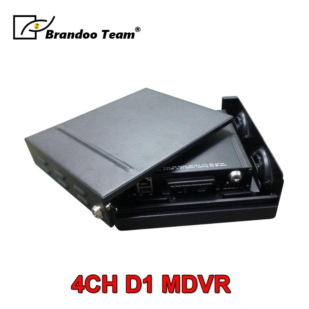 4ch veicolo DVR, 4ch DVR Bus, tra cui la funzione di GPS, DVR HDD, 500 gb HDD