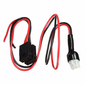 Image 1 - 1meter Power Cable 30Amp Replacement For Icom Radio IC 706 IC 718 IC 746 IC 756