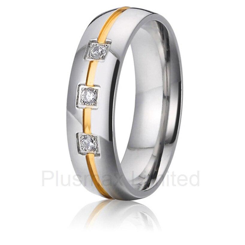 2016 Китай чистая Titanium Изготовление ювелирных изделий дамы обещание обручальные кольца для нее