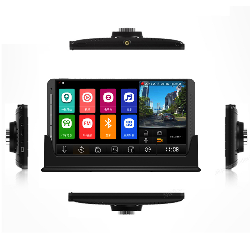 Image 5 - Relee RLDV 11 Truck dvr camera system touch screen Dash Cam Dual FHD 1920x1080P   Video Recorder  7.0Inch car black box-in DVR/Dash Camera from Automobiles & Motorcycles