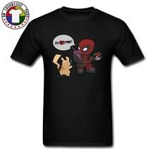 Deadpool Pokemon Mimikyu Pikachu T Shirts Electrophonic Music Go Time Rock Rap Band Cartoon Tee Boy Marvel Dead Pool