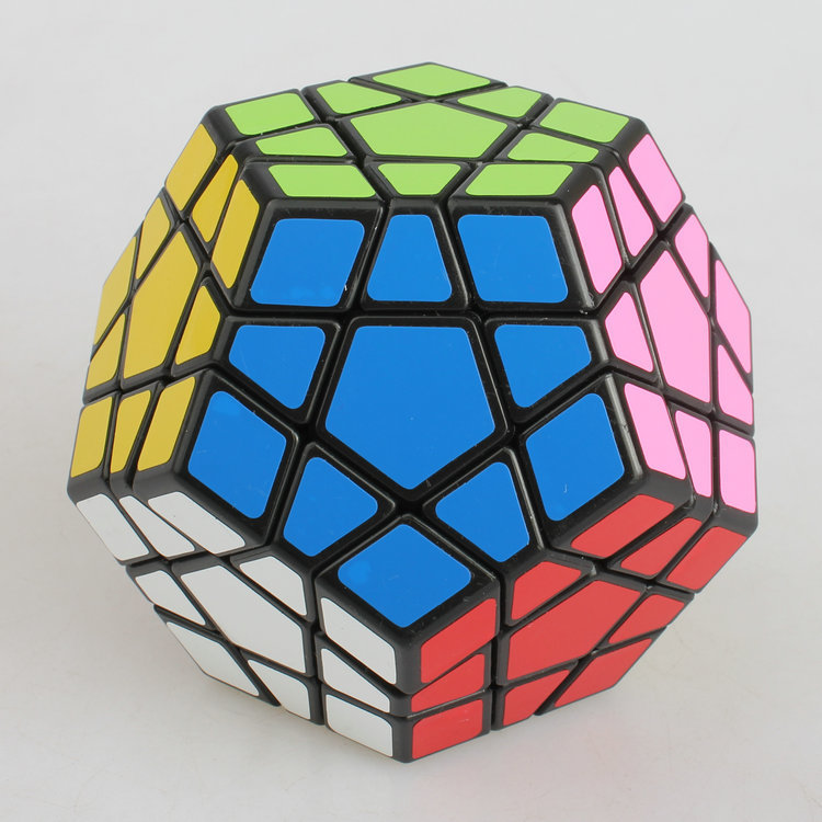 6pcs / Set Shengshou Noir Étrange-forme Puzzle Cube Ensemble Vitesse - Jeux et casse-tête - Photo 5