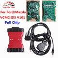 2017 Для Ford VCM II IDS VCMII V101 Полный Чип OEM OBDII Сканирования инструмент Для Mazda/Ford VCM2 VCM 2 Сканер Штрих-Кода Автомобиля CNP БЕСПЛАТНО корабль