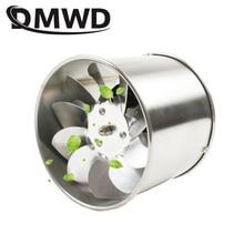 DMWD 4 дюймов трубы из нержавеющей стали вытяжной вентилятор окна воздуховод вентиляции 4 ''Туалет Кухня Ванная комната вентилятор экстрактор