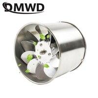 Dmwd 4 Polegada tubo de aço inoxidável exaustão ventilador janela ventilação do duto 4 extractor extractor banheiro cozinha banheiro ventilador ar extrator