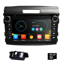 High quality Fit HONDA CRV 2012-2016 GPS Navigation 7″ Car Stereo 2DIN DVD Player Radio Bluetooth BT TV function