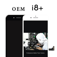 100% test and Top quality OEM 2 pcs Display For iPhone 8 plus lcd Touch Screen Digitizer Assembly With 3D Touch replacement