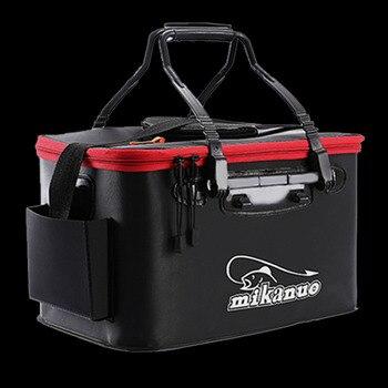 Marche poisson Portable EVA sac de pêche pliable seau de pêche en direct boîte à poisson Camping eau conteneur Pan bassin matériel de stockage sac