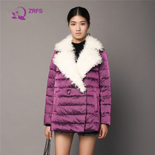 The 2016 winter fashion A version of sheep curly loose cloak jacket coat woman jacket