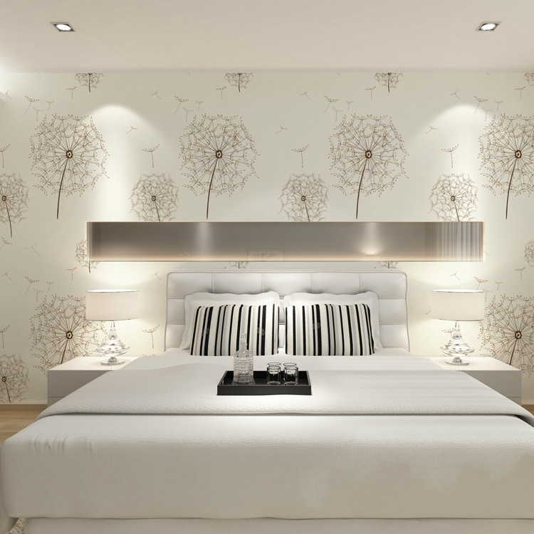 Hot new mediterranean color wood wallpapers fashion modern for Modern 3d wallpaper for bedroom