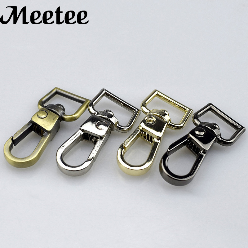 20pcs Swivel Snap Hook Hang Buckle For Handbag Purse Belt Strap Dog Collar Keychain Diy Wallet Bag Strap Lobster Clasp Buckles Keep You Fit All The Time Arts,crafts & Sewing Home & Garden