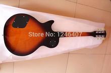 Herstellung alle arten der besten tigerstreifen Lp e-gitarre G kann individuell nach bedarf EMS freies verschiffen