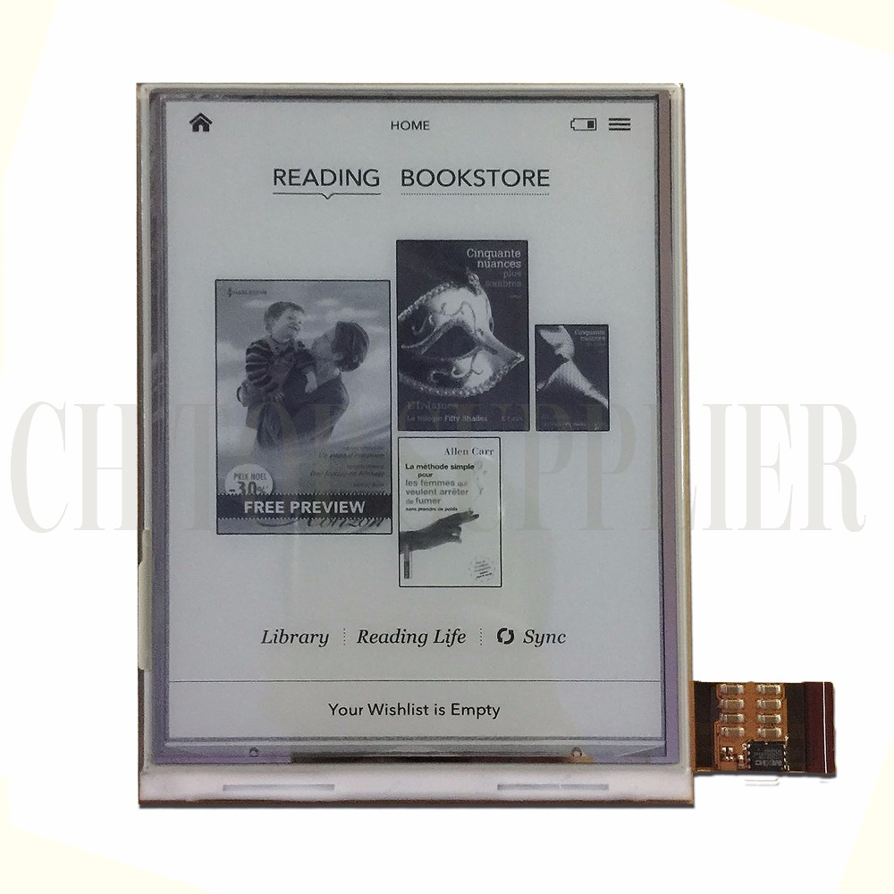 6 ED060XC3 lcd For Digma r658 ONYX BOOX C67SM Bering 2 Digma E627 r656 Digma E631 e6DG Ebook Reader Book 1 Reader LCD Display new 6 ed060sc7 lf c1 e ink lcd display for amazon kindle 3 k3 ebook reader large amount in stock