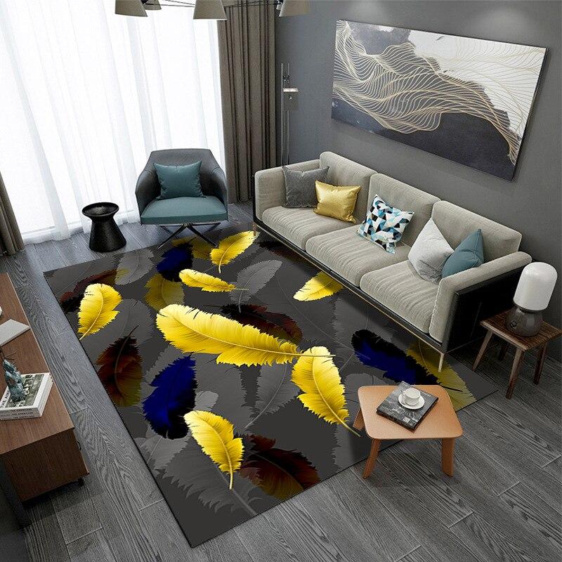 Home Floor Mats 3D Carpets For Living Room Tea Table Antiskid Rug Child Room Game Toys Carpet Bedroom Bedside Area Rugs Alfombra