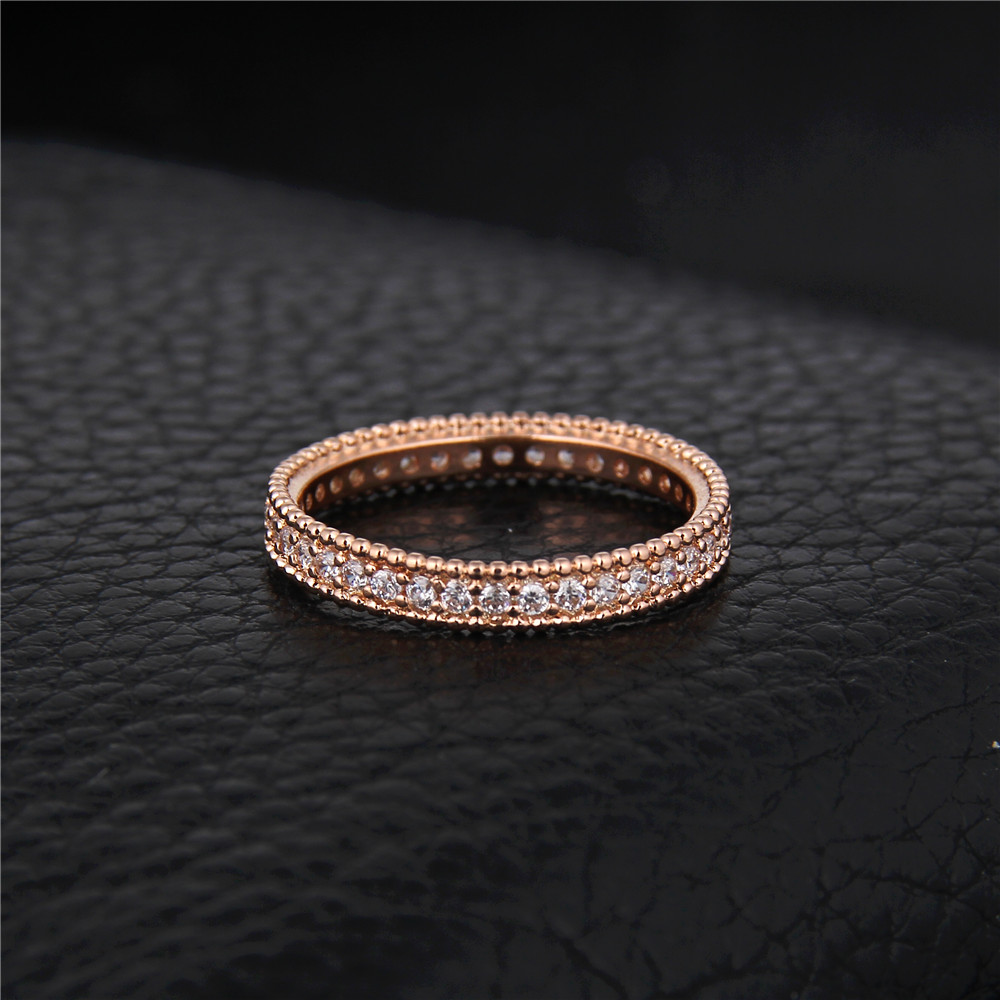 DODO 585 Rose Gold color Engagement Ring Jewelry For Women Wedding Band Anillos Bague Bijoux argent Crown ring bijouterie DR197 4